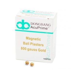 Magnetki za aurikuloterapijo - zlati