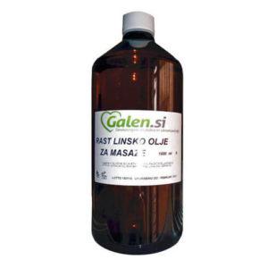 Nosilno olje za masažo